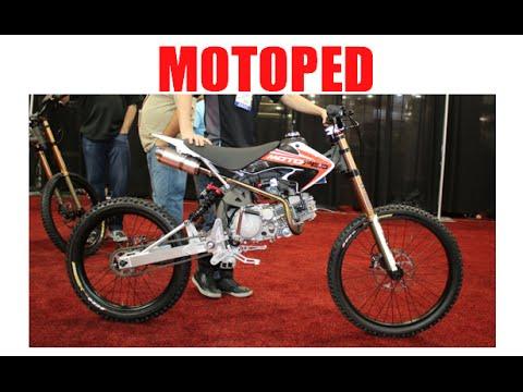 Mopeds For Sale Las Vegas >> Motoped Downhill Mountain Bike Mopeds Sema Las Vegas Youtube