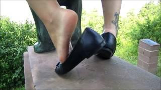 Black Flats and Sweaty Feet