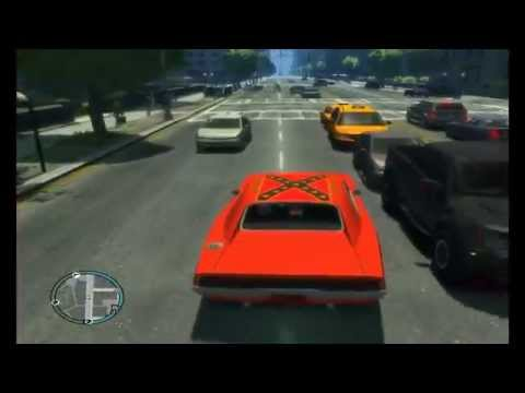 The Dukes of Hazzard in Gta IV (General Lee)