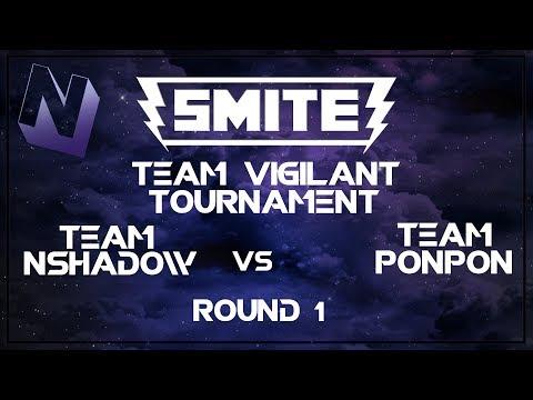 Smite: Team Vigilant Tournament | 2v2 | Team Nshadow vs Team PonPon