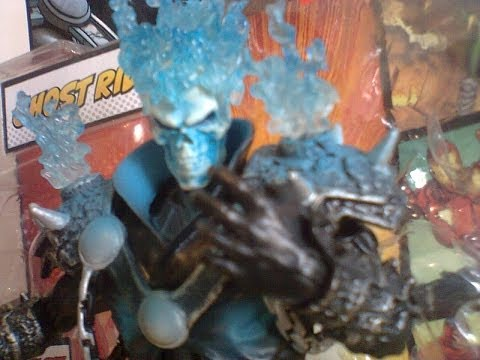 Review -Boneco Ghost Rider- (Motoqueiro Fantasma) -Marvel Legends -Terrax Séries