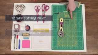 Quilty: Core supplies needed to start quilting