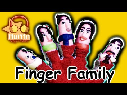 Muffin Songs - The Finger Family (Daddy Finger) | nursery rhymes & children