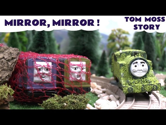 Thomas The Tank Tom Moss Play Doh Funny Prank Magic Mirror Diesel 10 Playdoh Kids Toy Story