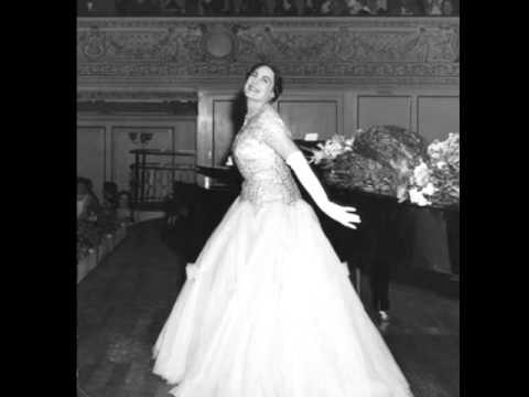 Renata Tebaldi. In solitaria stanza. G. Verdi.
