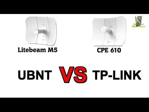 UBNT Litebeam M5 VS TP-LINK CPE 610