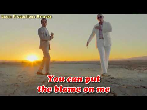 Pitbull   Rain Over Me ft  Marc Anthony karaoke lyrics