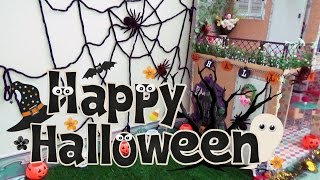 Nhà búp bê Barbie - Trang trí Halloween cho nhà búp bê - AnhAnhChannel
