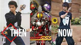Then And Now Kamen Rider 555 Cast