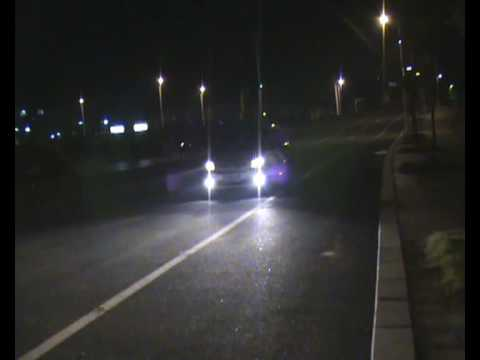 Citroen XSara Picasso Power n Acceleration Testing at night