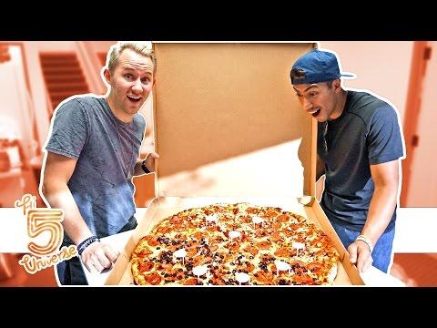 Giant Pizza Eating Challenge!