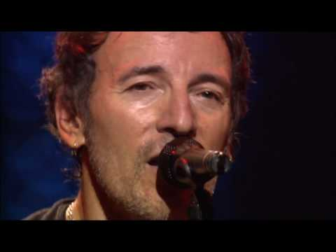 Bruce Springsteen & The E Street Band Thunder Road Live In Barcelona 2002
