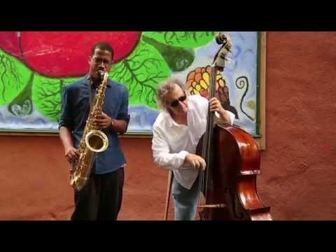James Brandon Lewis & Michael Bisio - In Gardens - Arts For Art, NYC - Sep 21 2014
