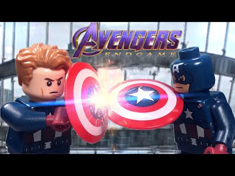 LEGO Avengers Endgame: Captain America vs Captain America