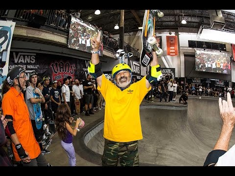 Steve Caballero Tied Winning Run, Vans Pool Party 2017