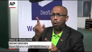 Interpreter at Mandela Event Called a Fake