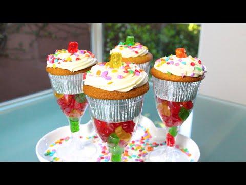 POSTRE CUMPLEAÑERO (cupcakes de vainilla)