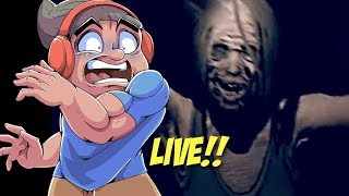 LET'S PLAY SOME SCARY GAMES LIVE!! (HELP ME!!)