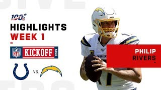 Philip Rivers Charges to Victory w/ 3 TDs | NFL 2019 Highlights