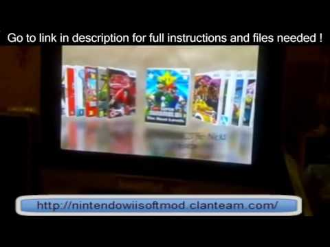 [Wii Homebrew] Hack Wii 4.3U/E WITHOUT GAME [Wii Softmod] Easy way to mod!