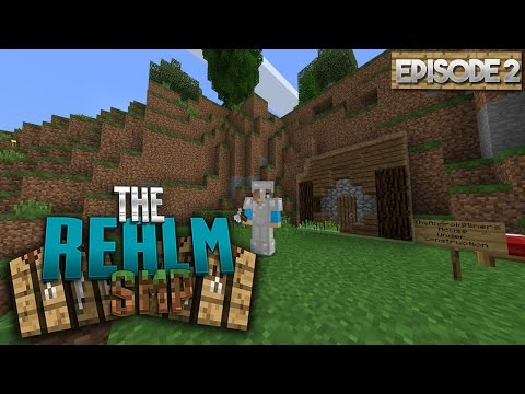 BUILDING MY HOME! - MCPE 1.0 Realms SMP S2 EP.2 - Minecraft PE (Pocket Edition)