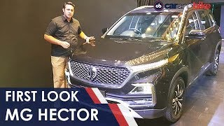 First Look: MG Hector | NDTV carandbike