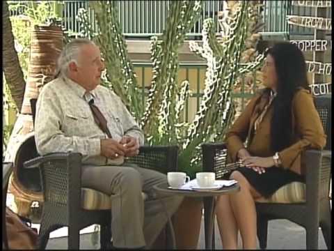 arizona native news with linda white wolf interviewing senator nighthorse campbell