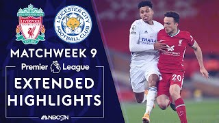 Liverpool v. Leicester City | PREMIER LEAGUE HIGHLIGHTS | 11/22/2020 | NBC Sports