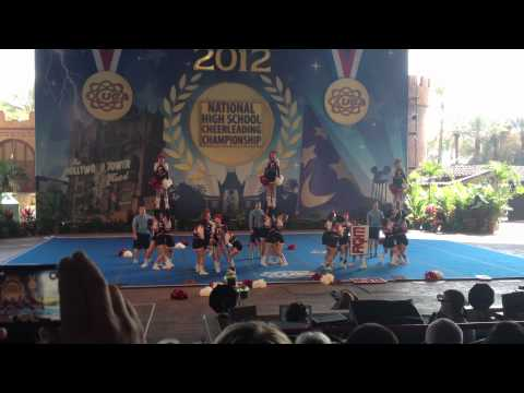 Connetquot Varsity Cheer - Nationals (Preliminary) - 2012 (HD)