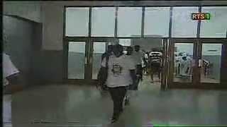 El Hadji Diouf Sur Les tribunes Lors du Match Senegal-Liberia