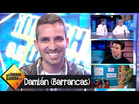 Damián (Barrancas) repasa lo mejor de 'El Hormiguero 3.0'