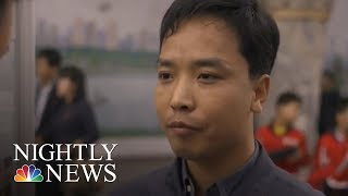 Inside North Korea: Citizens Say They're Prepared To Fight Against U.S. | NBC Nightly News