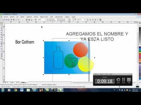 TUTORIAL DE COREL DRAW X3 LOGO