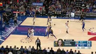 NY. 23-26 Embiid from elbow attack