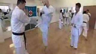 Human Weapon Karate - Jodan Mawashi Geri, High Kick