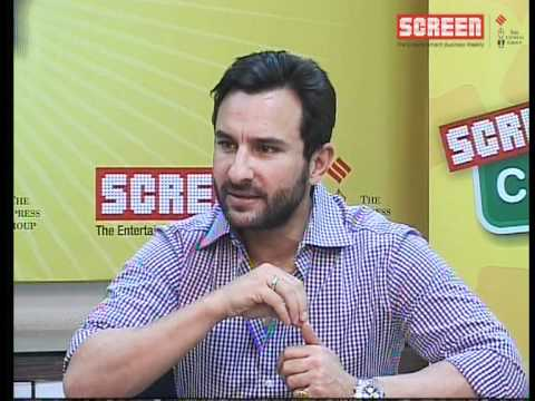 "Saif Ali Khan : Talking about his new movie ""Agent Vinod"""
