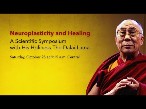 Neuroplasticity And Healing: A Scientific Symposium With His Holiness The Dalai Lama video