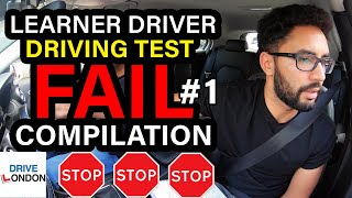 Ultimate Epic Fail Compilation - Learner Driver Mock Test - Common Faults - Driving Test UK