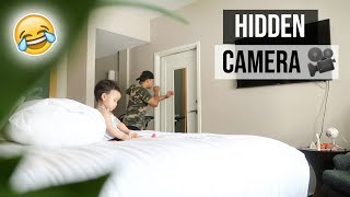 HIDDEN CAMERA ON BOYFRIEND! (SHOCKING FOOTAGE)