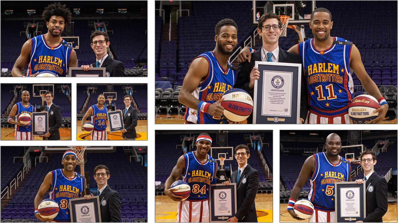 [Breaking Records With The Globetrotters] Video