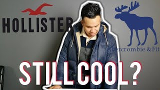 Abercrombie & Fitch/Hollister Store Review and Haul (2018)