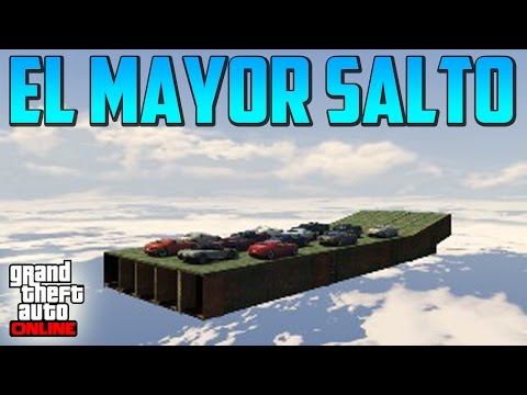 El Mayor Salto!! - Gameplay Gta 5 Online Funny Moments video