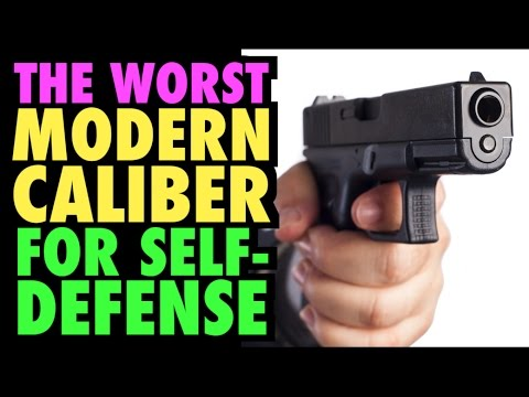 Worst Caliber for Self-Defense?