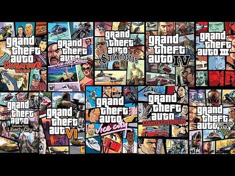 Все GTA игры от самых ХУДШИХ до самых ЛУЧШИХ!