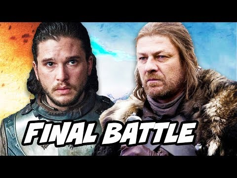 Game Of Thrones Season 8 Jon Snow And Final Battle