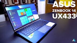 ASUS ZenBook 14 UX433 REVIEW and UNBOXING [+ GAMEPLAY & FPS]