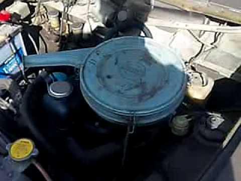 旧車 ブルーバード P411  Engine