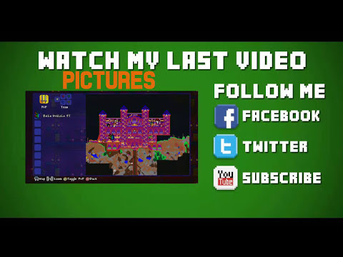 Xbox Terraria - 1.2 All Items Map - With Modded Items And Download Link!