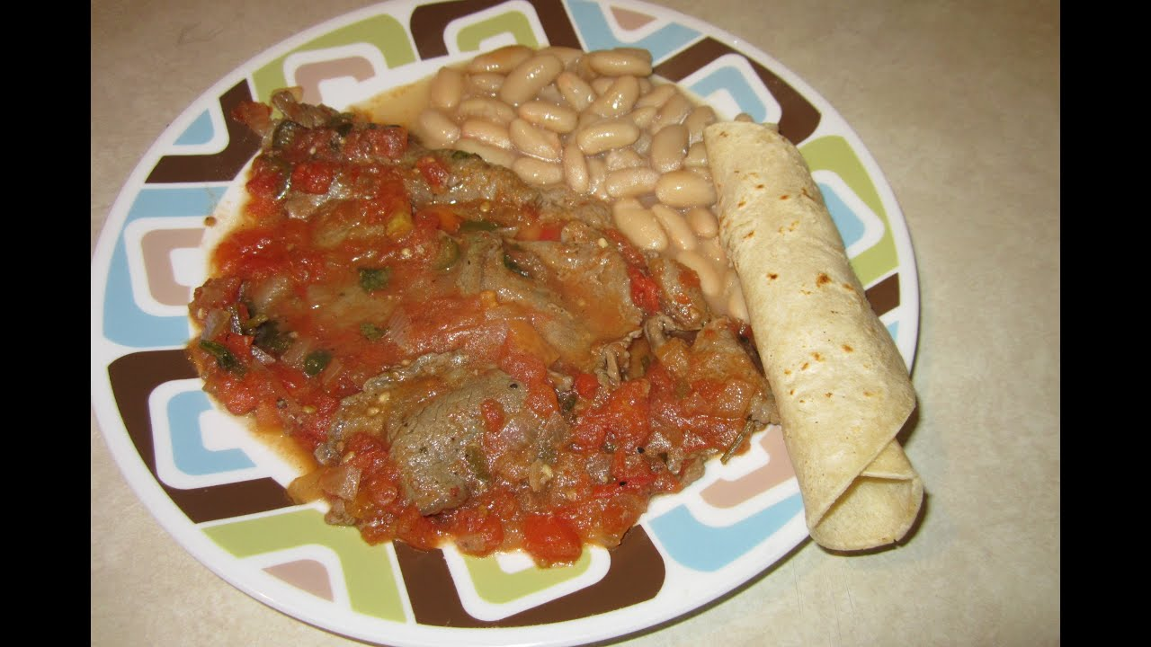 Receta de bistec a la mexicana comida mexicana aleliamada for Como hacer comida facil