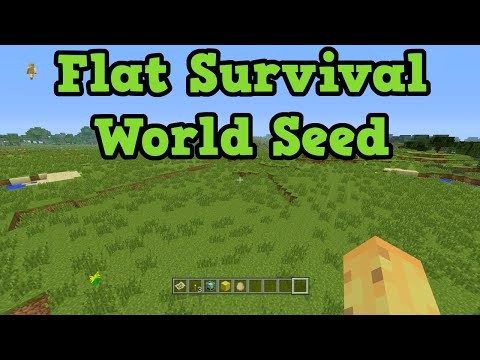 Minecraft Xbox 360 + PS3 - Survival Seed FLatland & Deserts